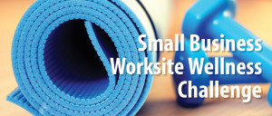 Small Business Worksite Wellness Challenge with a Yoga Mat in the Background