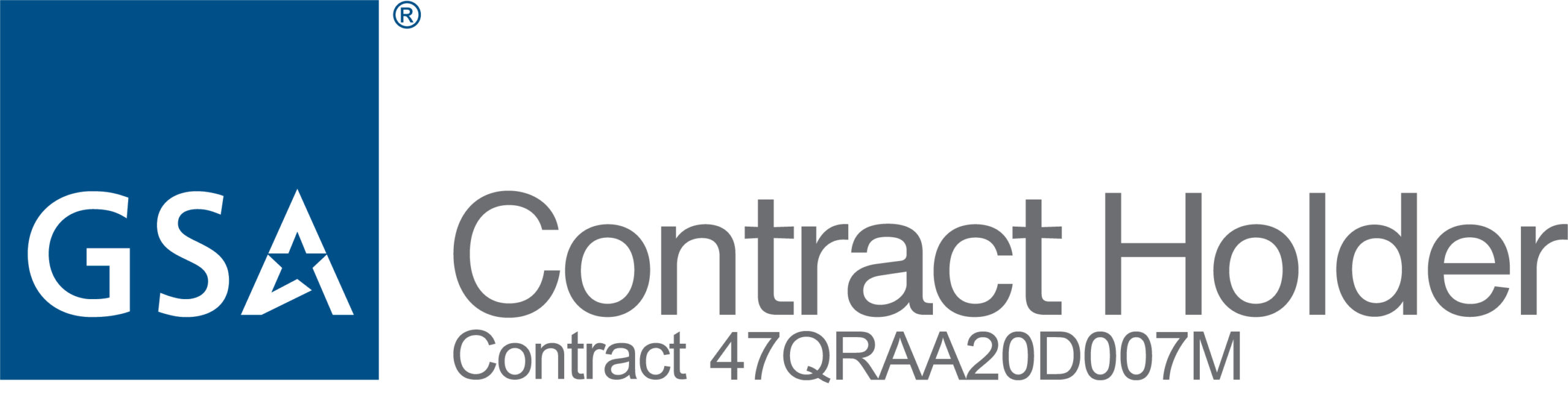 GSA Contract Holder Logo on White RGB