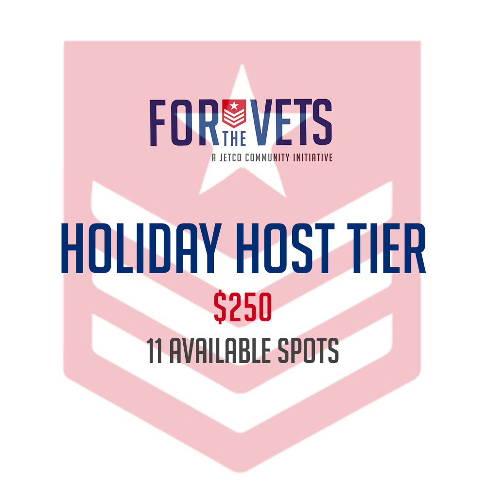 Holiday Host Tier with Badge