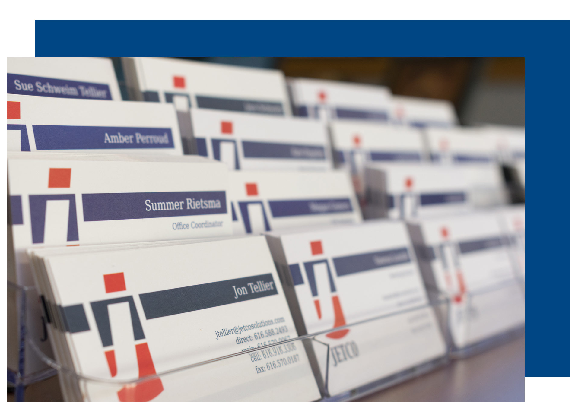 JetCo Solutions Business Cards